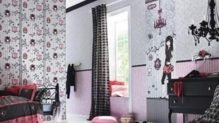 Rasch duvar kağıtlarıyla çocuk odaları şenlenecek!