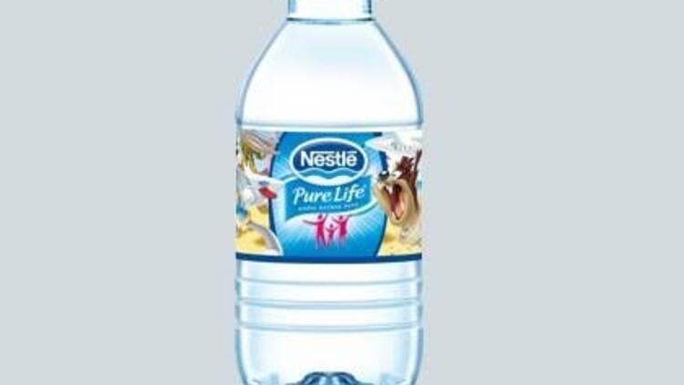 Nestl Pure Life'ın şişeleri şimdi çok renkli