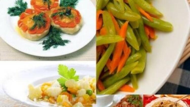 Birbirinden lezzetli sebze yemekleri burada!