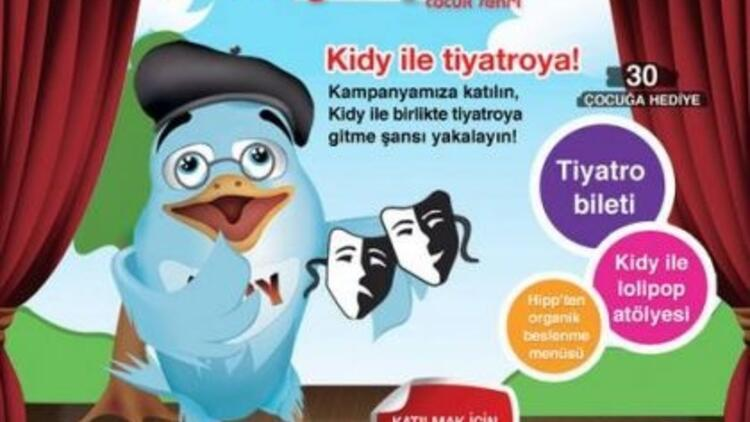 Kidycity.com ile tiyatro keyfi