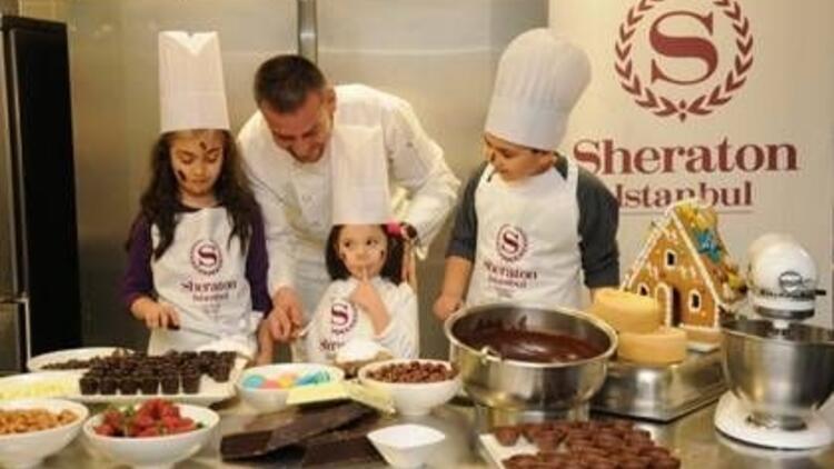23 Nisan'da çocuklara çikolatalı bayram