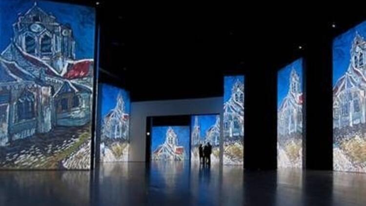 Van Gogh Alive sergisi