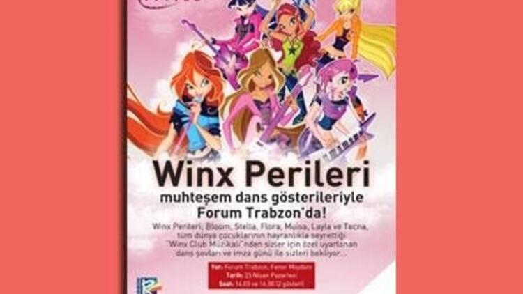 Winx Club Canlı Dans Gösterisi
