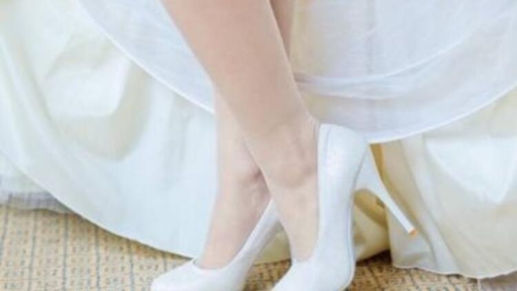 Birbirinden şık gelin ayakkabısı modelleri