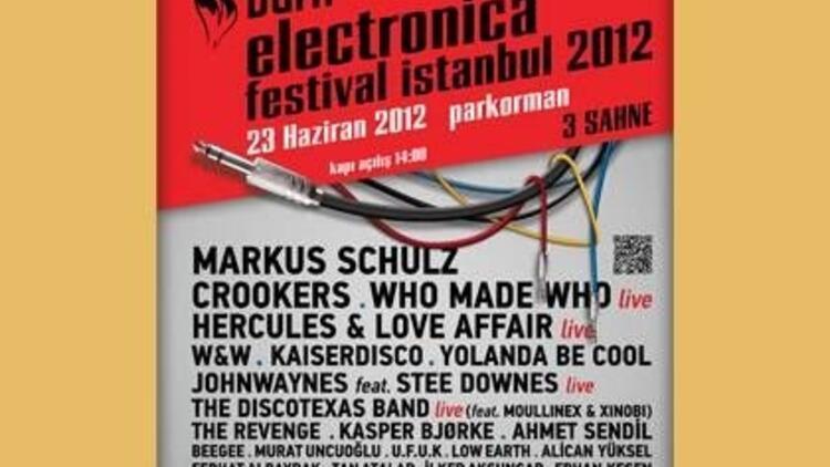 Burn Electronica Festival Istanbul 2012