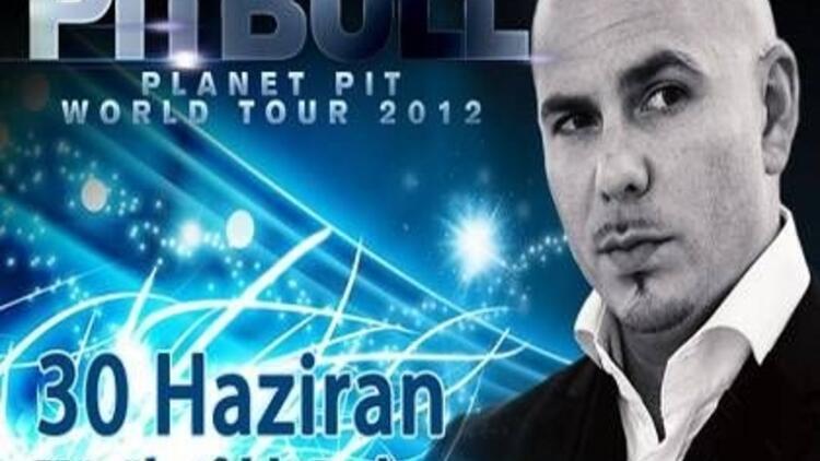 Pitbull 30 Haziran'da İstanbul'da!