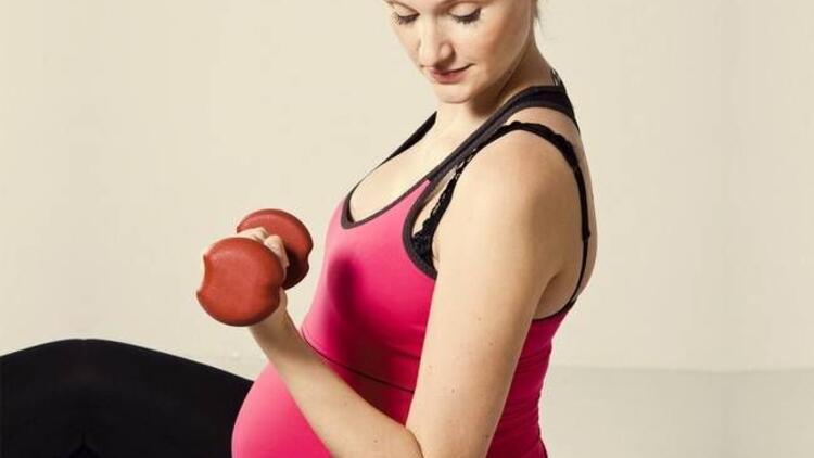 Hamileler için kol egzersizleri