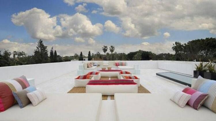 Modern ve ilginç teras modelleri