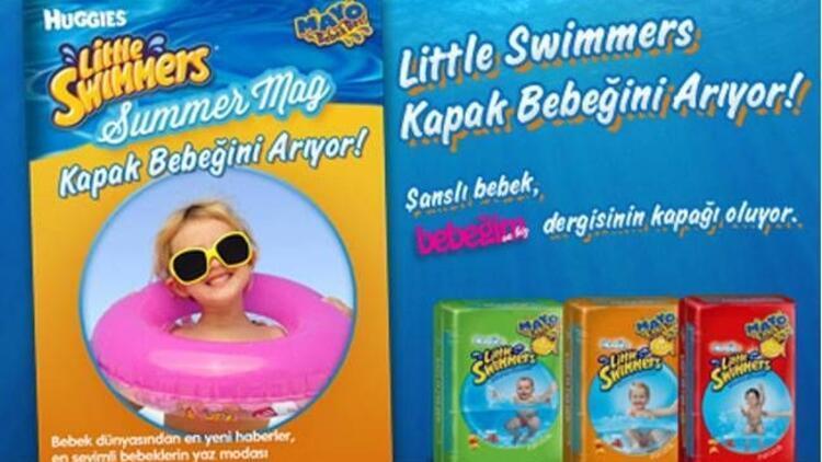 Huggies Summer Mag kapak bebeğini arıyor