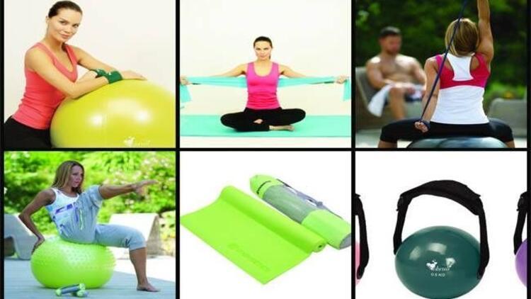 Pilates ve fitness adına aradığınız tüm ürünler!