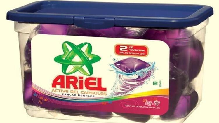Ariel'den Jel Deterjan Kapsül