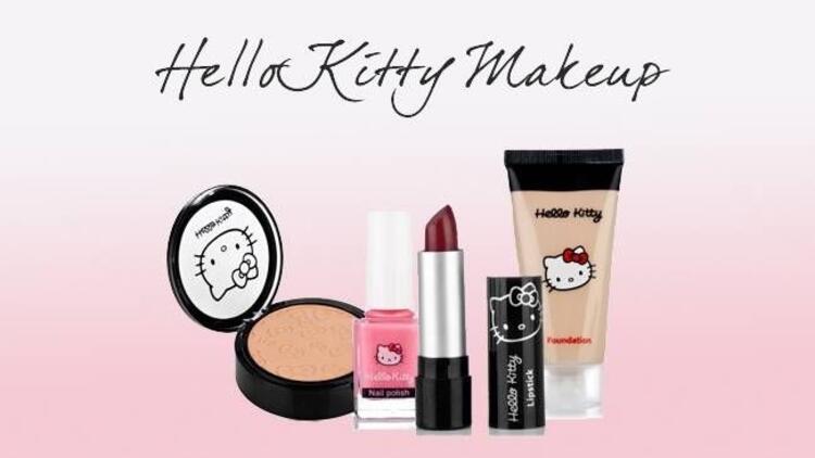 Hello Kitty'nin makyaj serisi artık Türkiye'de!