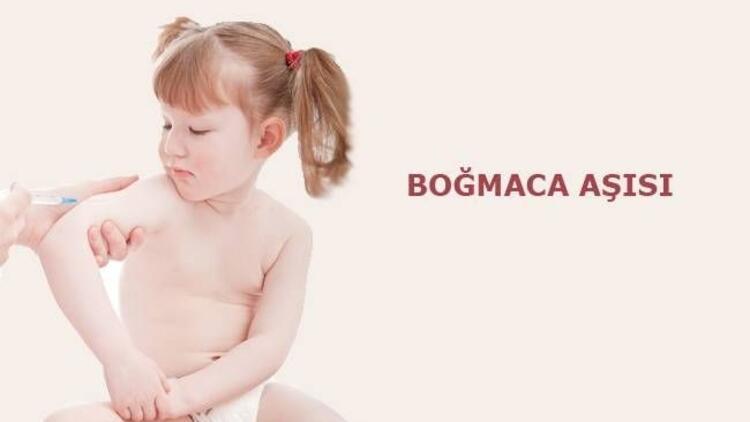 Bebek ve çocuklarda boğmaca aşısı