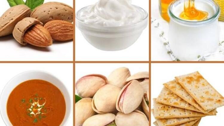 100 kaloriyi aşmayan sağlıklı atıştırmalıklar