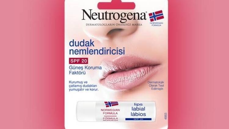 Neutrogena SPF 20 Dudak Nemlendiricisi