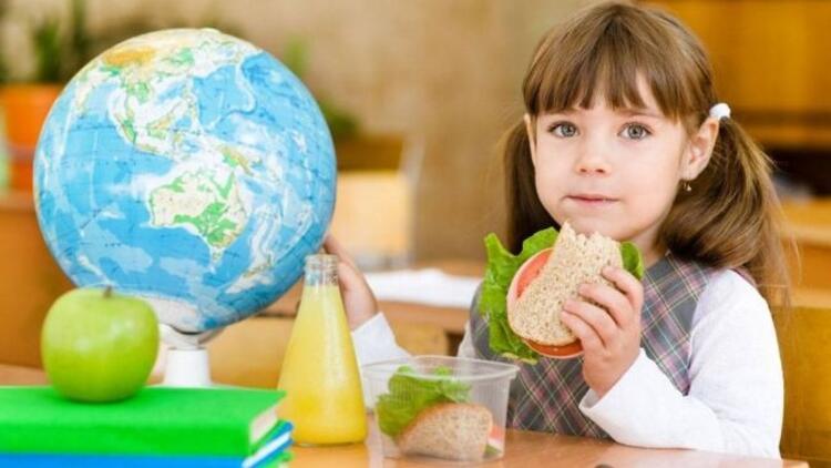Beslenme çantası için örnek menü
