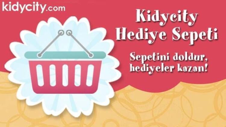 Kidycity.com'dan kazandıran sepetler