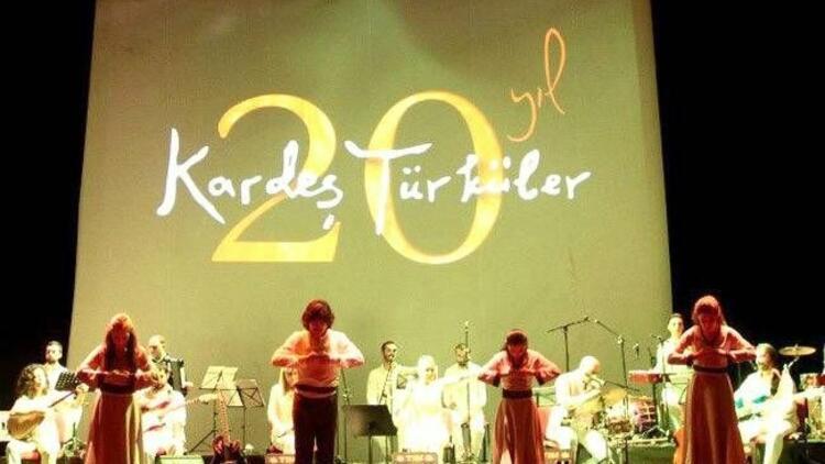 Kardeş Türküler, 10 Ekim'de sahnede!
