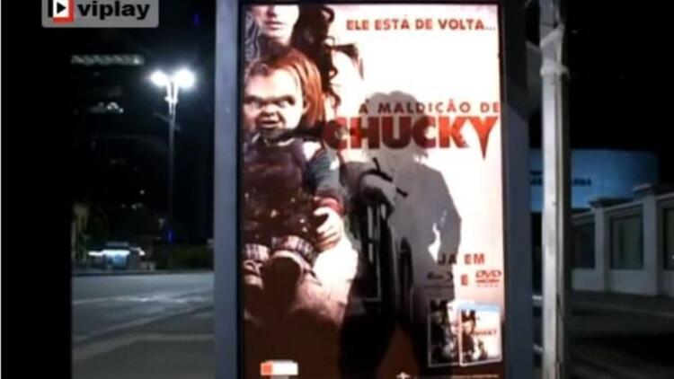 Katil bebek Chucky filminin olaylı yeni tanıtımı