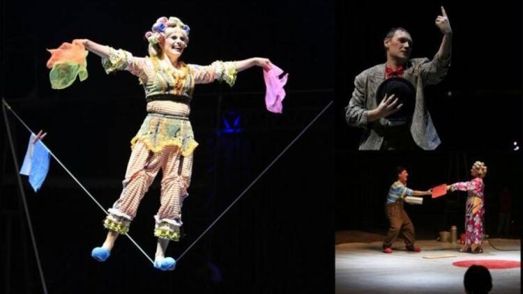 Hayvansız bir sirk!