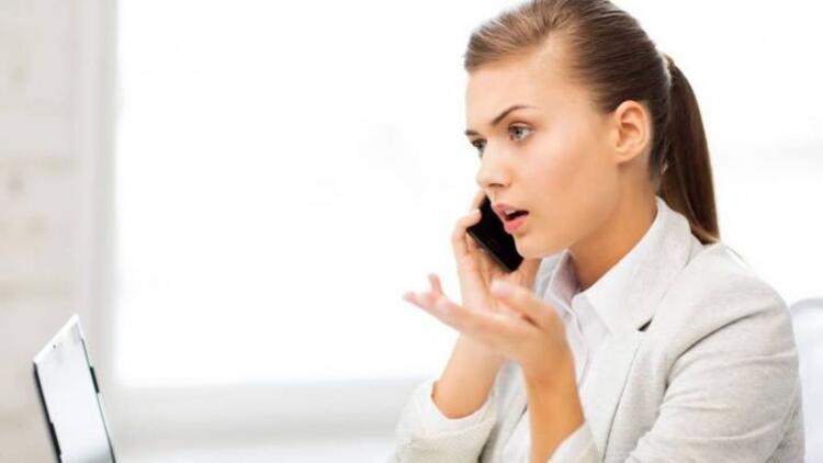 Problemlerinizi telefonda konuşmayın!