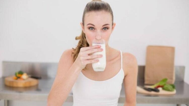 Günde 2 bardak süt için!