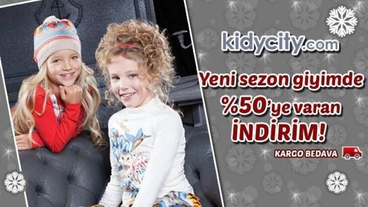 Kidycity.com'dan yılbaşına özel  %70 indirim fırsatı