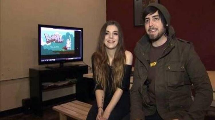 Bilgisayar oyununda evlenme teklifi aldı!