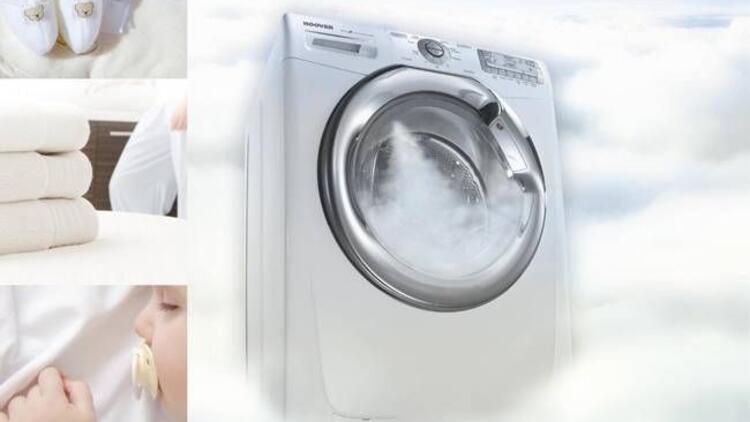 Bebeklerin hassas ciltlerini düşünen çamaşır makinesi