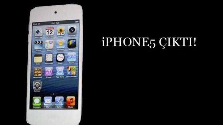Merakla beklenen telefon iPhone5 çıktı!
