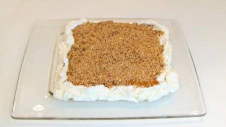 Bal kabaklı bisküvi pastası tarifi