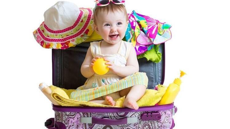 Bebekle tatil hazırlığı