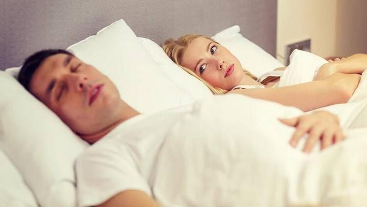 Horlama, cinsel isteksizliğe yol açıyor