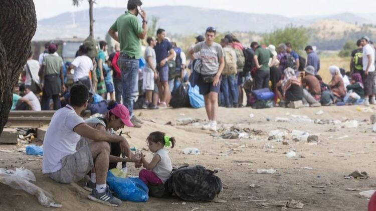 Göçmen çocukların dramı