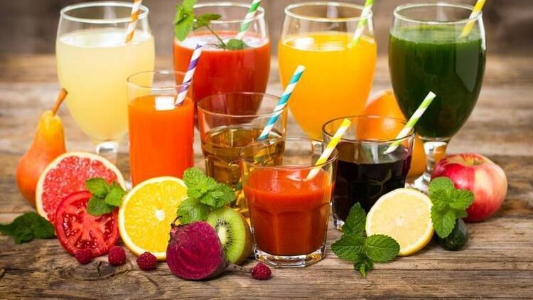 En sağlıklı meyve suları