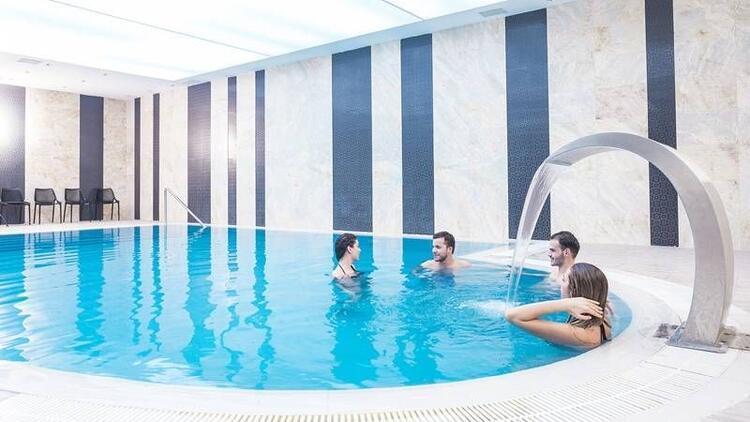 """Dünyaca ünlü şifalı sularıyla """"Grannos Thermal Hotel"""""""