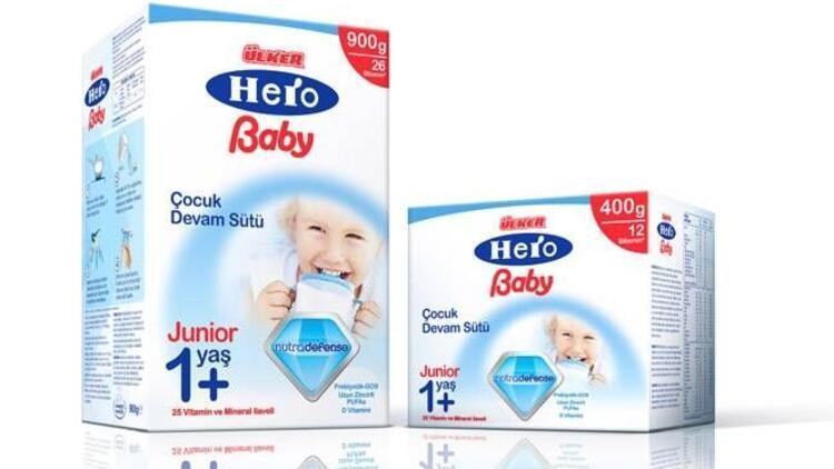 Ülker Hero Baby ile güçlü bebekler!