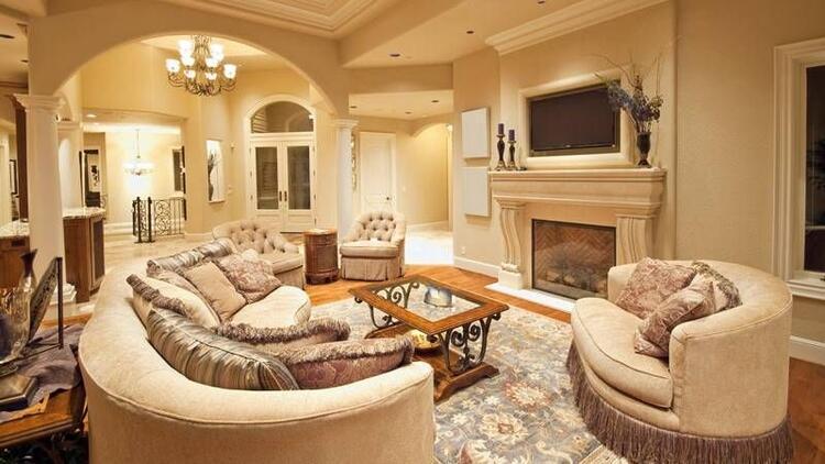 Büyük yastıklı mobilyalar daha konforlu
