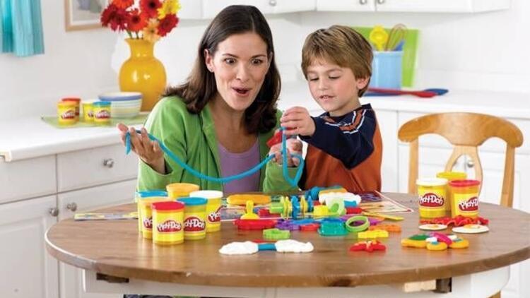 Çocuklarınızın hamurunda yaratıcılık var!