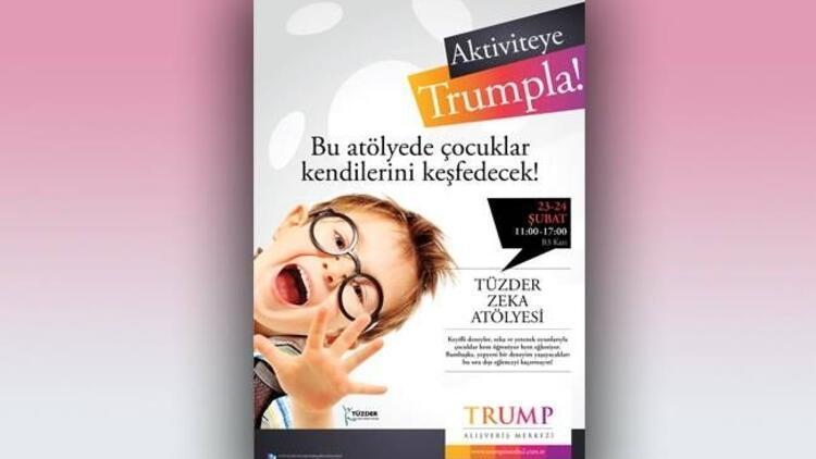 Trump Towers Mall'ın çocuk katı açıldı!