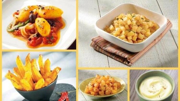 Patates ile yapılabilecek lezzetli yemekler