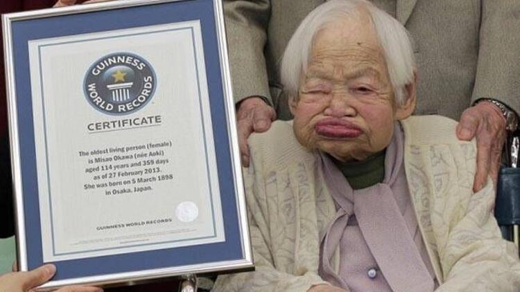 115 yaşına kadar sadece 1 kez doktora gitti