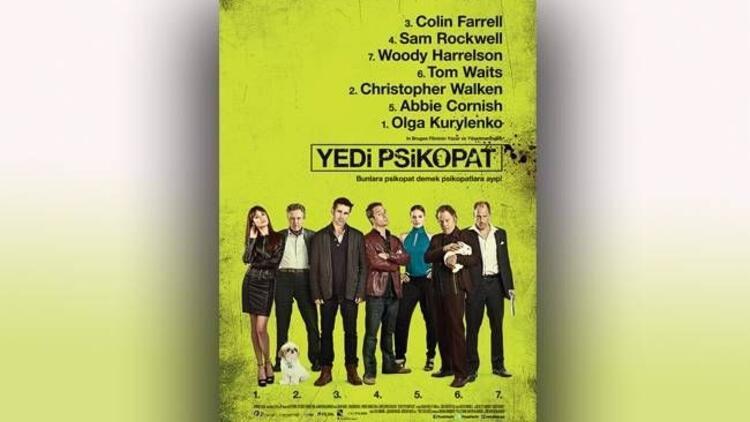 Colin Farrell ''Yedi Psikopat'' filminde!