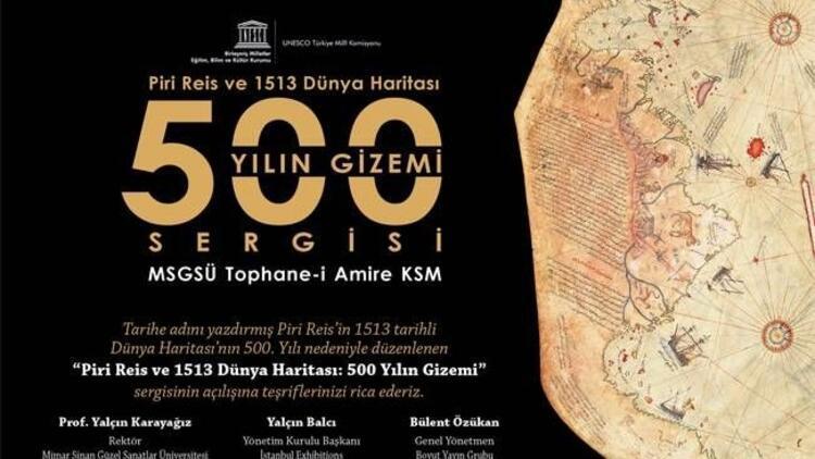 Piri Reis'in 500 yıllık gizemi Tophane-i Amire'de!