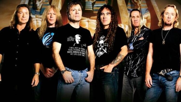 Efsanevi grup Iron Maiden İstanbul'a geliyor