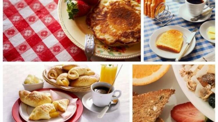 İşte, dünyadan kahvaltı görüntüleri