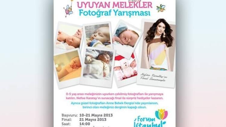 Uyuyan meleklerin büyülü anları Forum İstanbul'da!