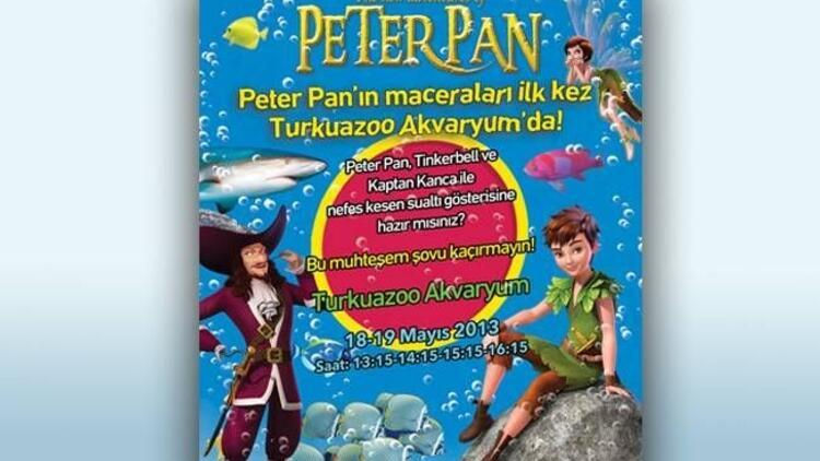 Peter Pan'in macera dolu serüveni su altında!