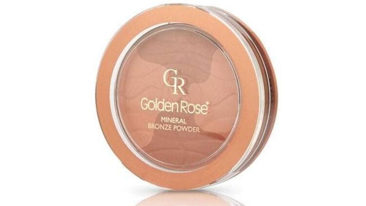 Golden Rose'un yeni ürünü: Minarel Bronze Pudra