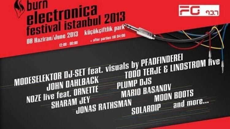 Burn Electronica Festival İstanbul 2013